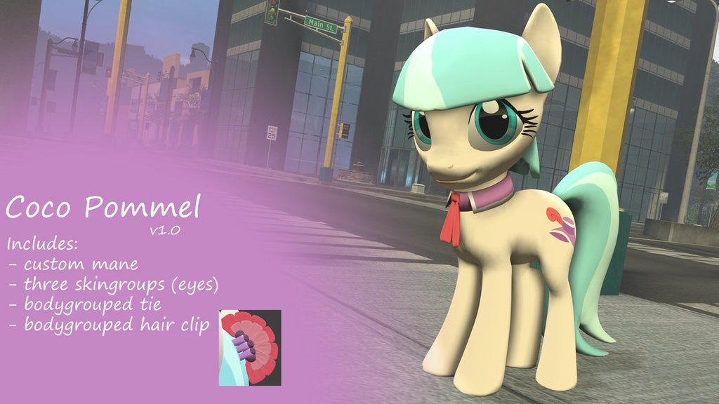 Dl  coco pommel by postal code d71ar79