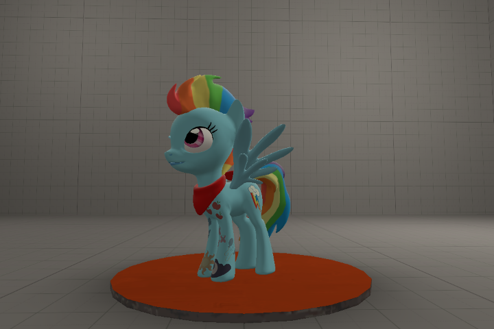 Punk Rainbow Dash