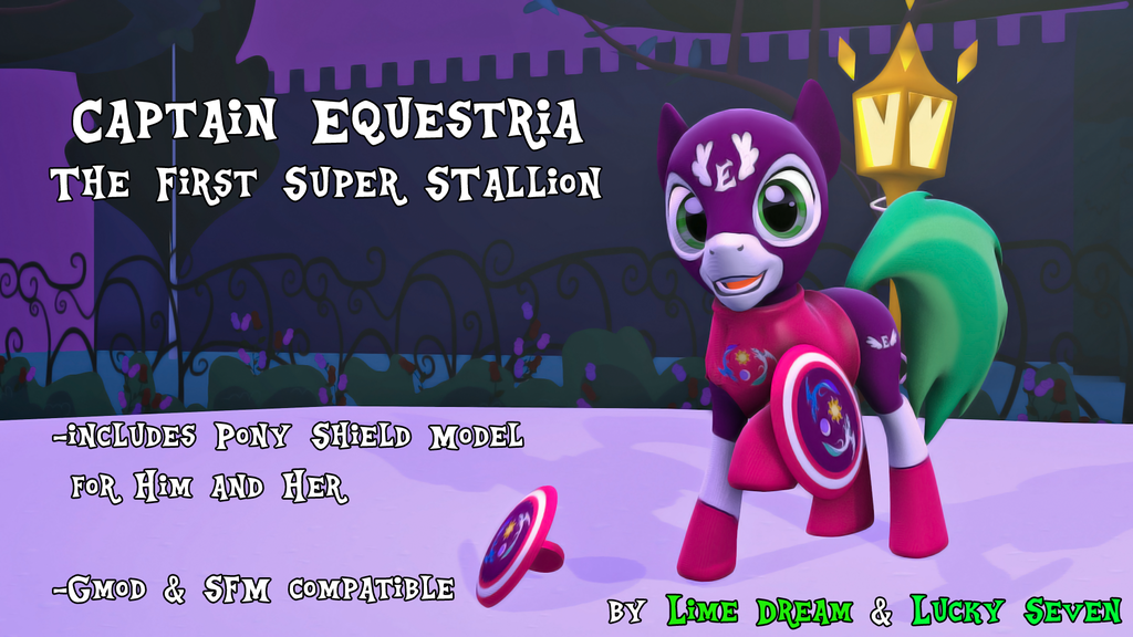 Captain Equestria - The First Super Stallion