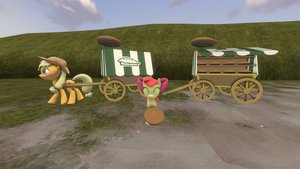 Dl  sfm  apple pie cart by dracagon d7riqf8