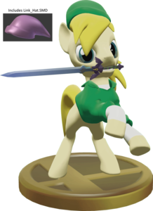 Dl sfm  ponified loz link    hat source file  by mollythemoopy d7yz7a4