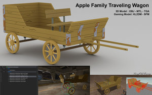 Apple Family Traveling Wagon
