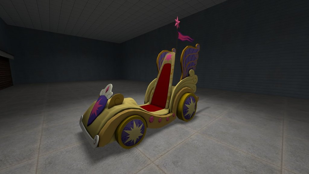 Twilight's Royal Chariot