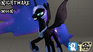 Dl  nightmare moon by beardeddoomguy d84h0nq
