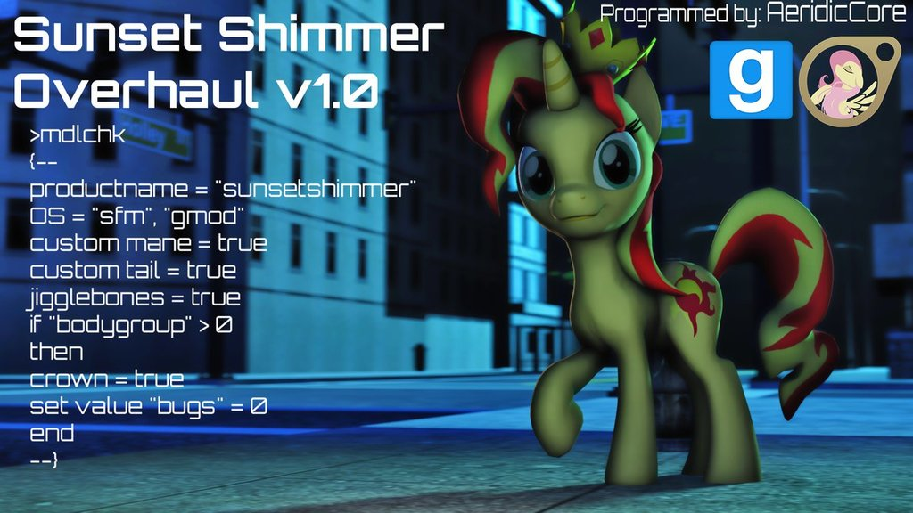 Sunset Shimmer (Overhaul)