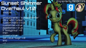 Dl  sunset shimmer overhaul by aeridiccore d86ih58