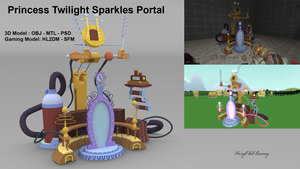 Princess Twilight Sparkles Portal