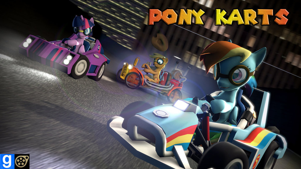 Dl  pony karts by beardeddoomguy d8ki8wd