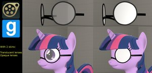 Dl  pony glasses  bonemergeable  by pataponfan d8p4u6n