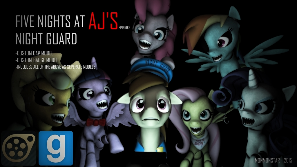 Five Nights at AJ's/Pinkie's, Night Guard