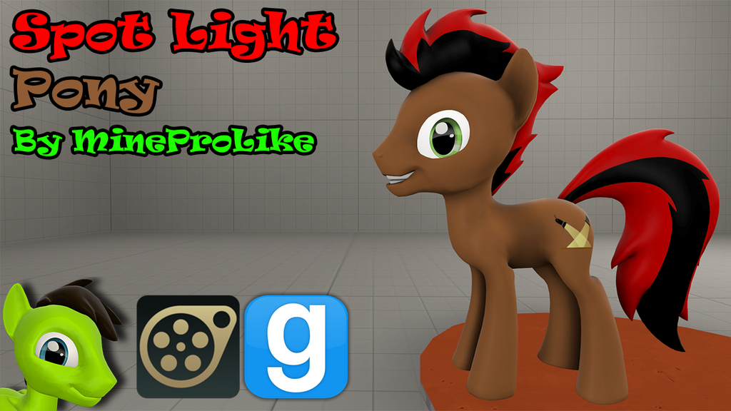 Spot Light Pony [SFM OC]