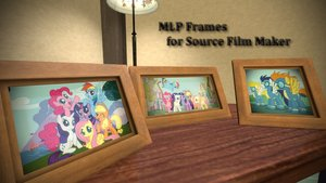 Pony Picture Frames