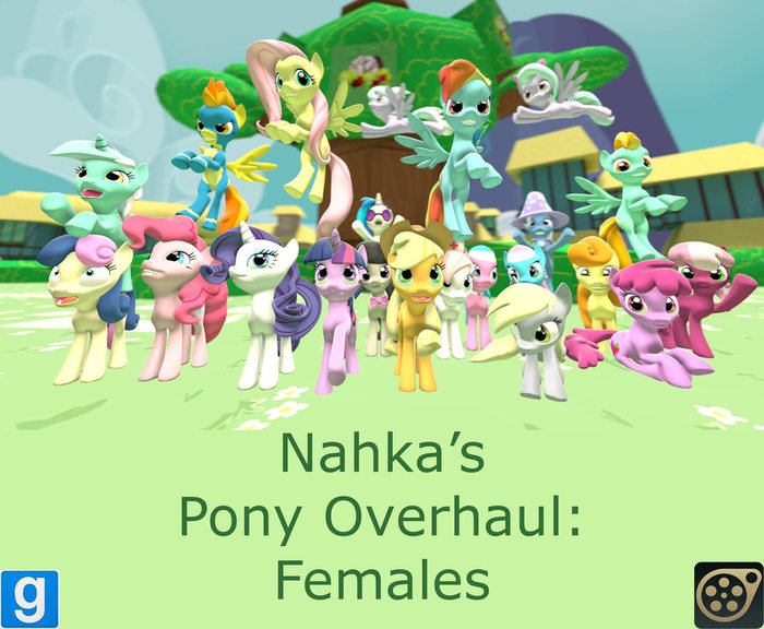 Poninnahka's Female Pony Models