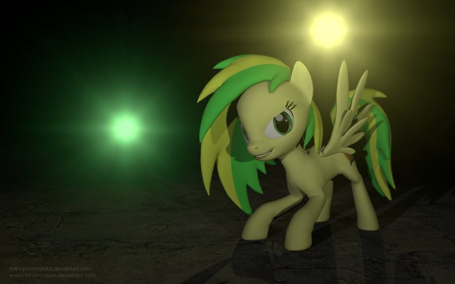 Glaze/WoodenToaster Pony Model