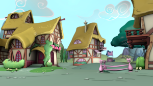 Ponyville environments   scene demo by discopears d94zsy5