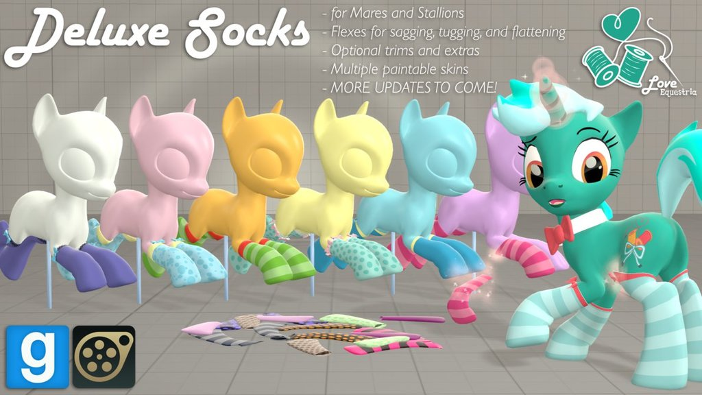 [DL] LE Deluxe Socks!