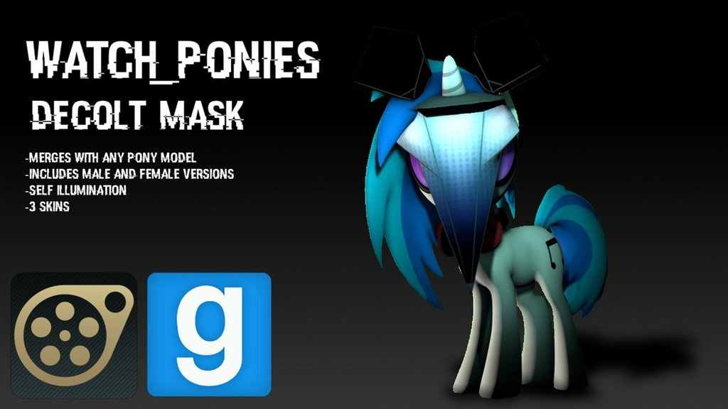 [DL] Watch_Ponies, Decolt Mask