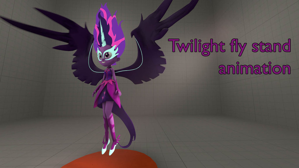 Midnight Sparkle Stand Animation
