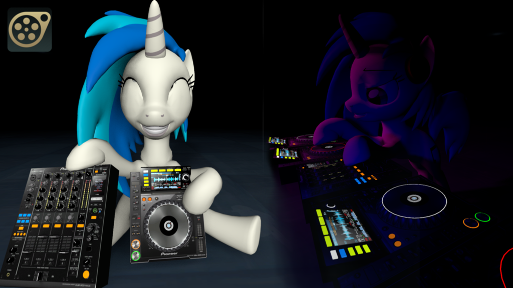 DJ Player and Mixer Model [OUTDATED/Check V5]