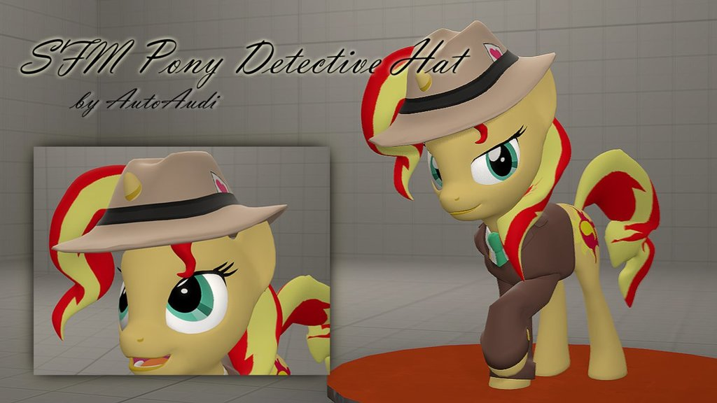 Bonemergeable Pony Detective Hat