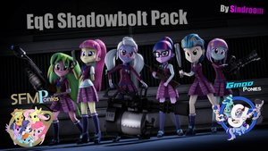 EqG Shadowbolts Pack v1.0