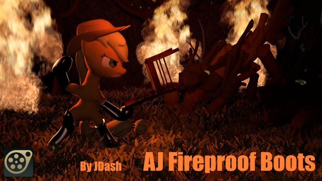 AJ's Fireproof Boots