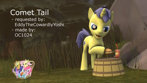 Comet Tail [Background Pony]