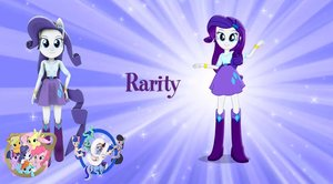 Rarity Pony Form