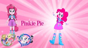 Pinkie Pie Pony Form