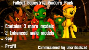 Fallout Equestria Raiders Pack