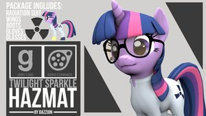 Hazmat Twilight Sparkle