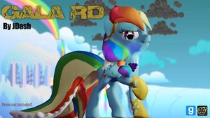Rainbow Dash Gala Edition