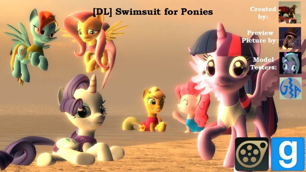 Swimsuit for Ponies