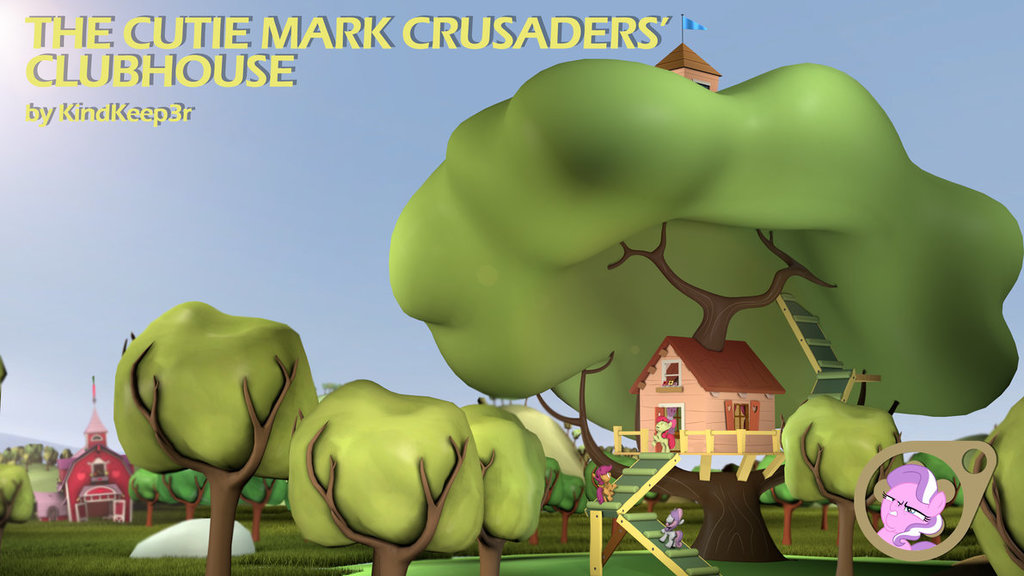 Cutie Mark Crusaders' Clubhouse
