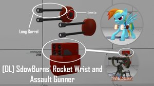 SdowBurns' Rocket Wrist and Assault Gunner