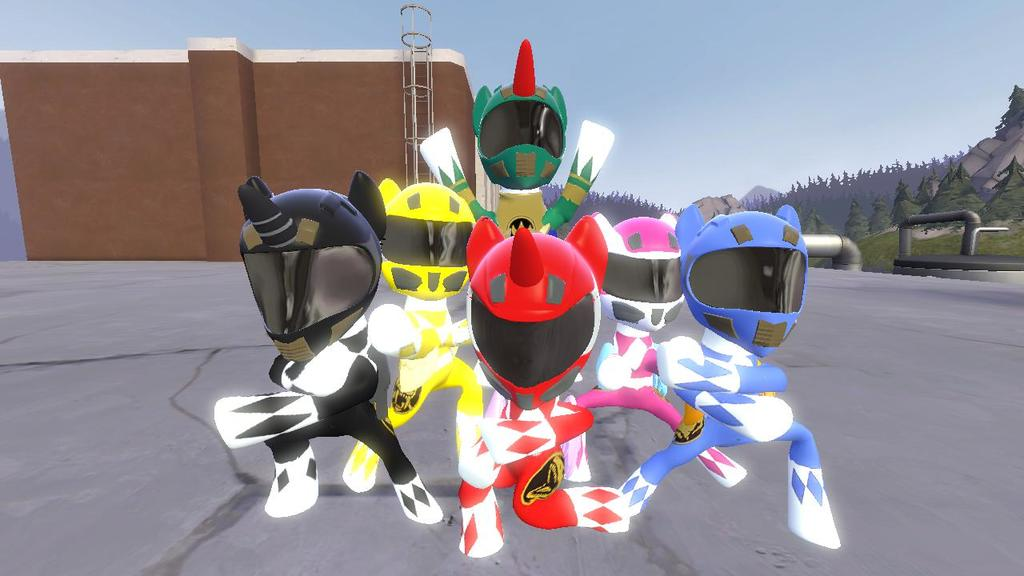 Mighty Morphin Power Ponies v3.0