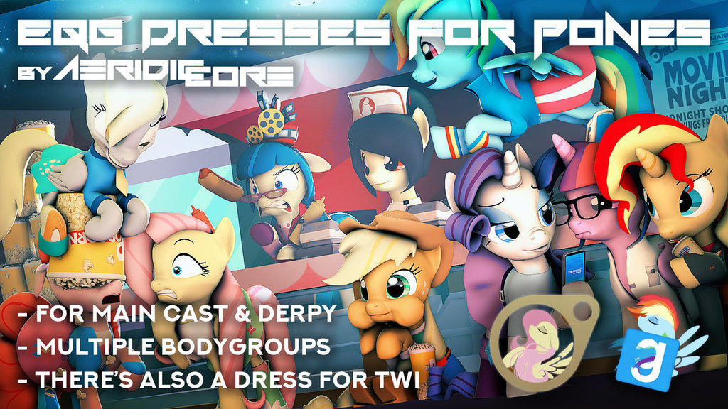 Equestria Girls Dresses for Ponies