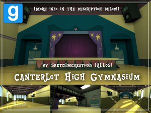 Misc. - Canterlot High Gymnasium