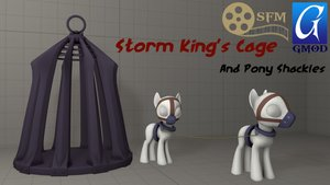 Storm King Cage and Pony Shackles