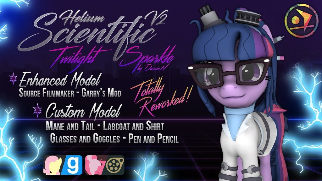 Scientific Twilight Sparkle | Helium - V2