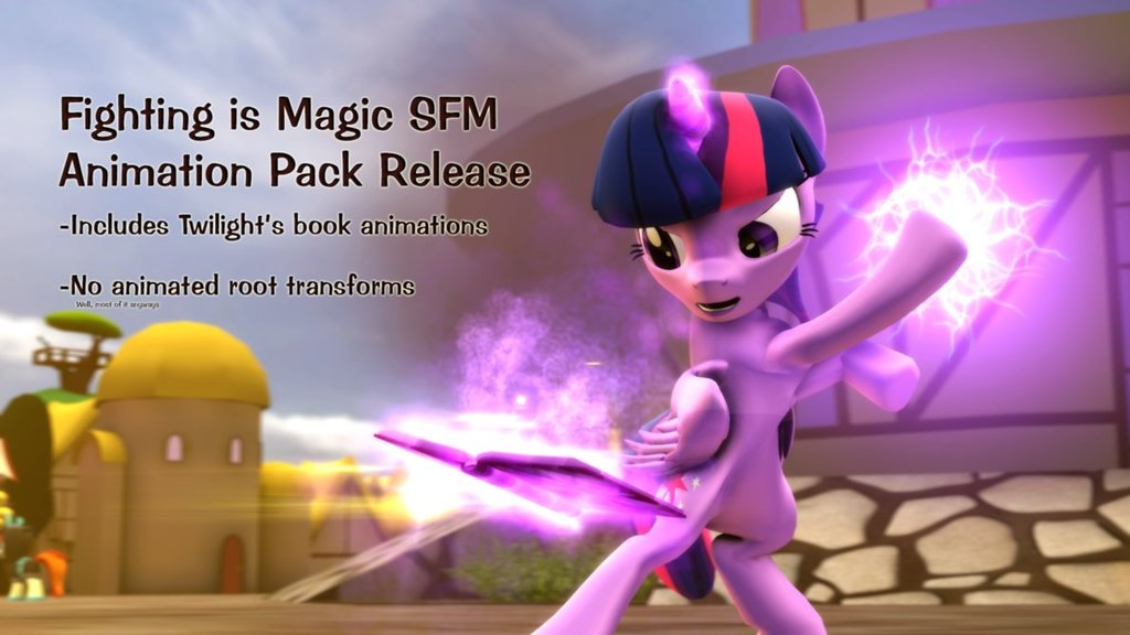 Animation Pack Release for Fighting is Magic SFM