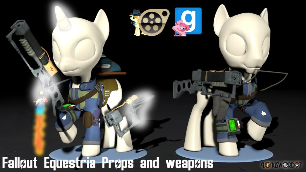 Fallout: Equestria - Props Pack