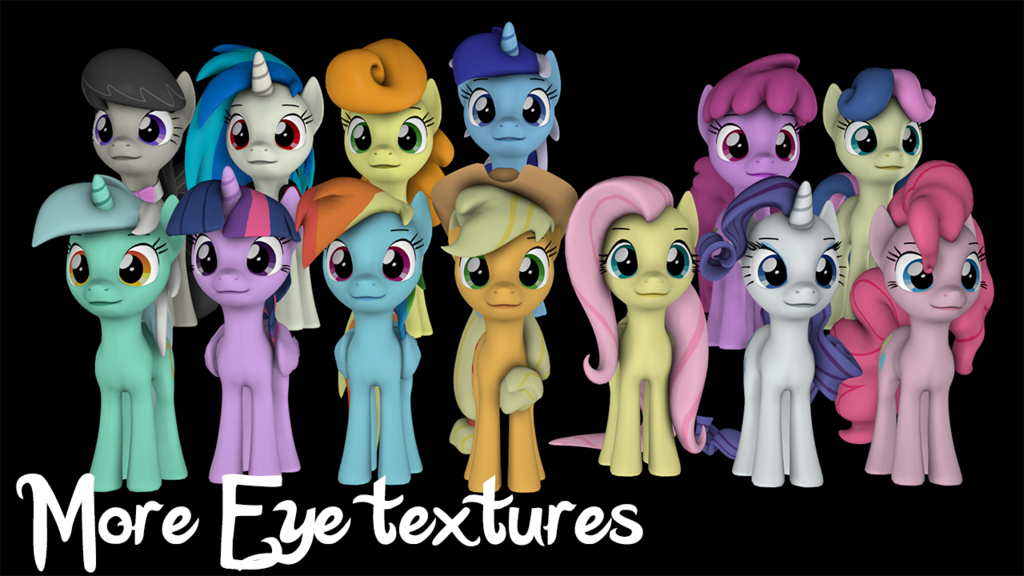 Fixed eye textures - SFM Resource Download