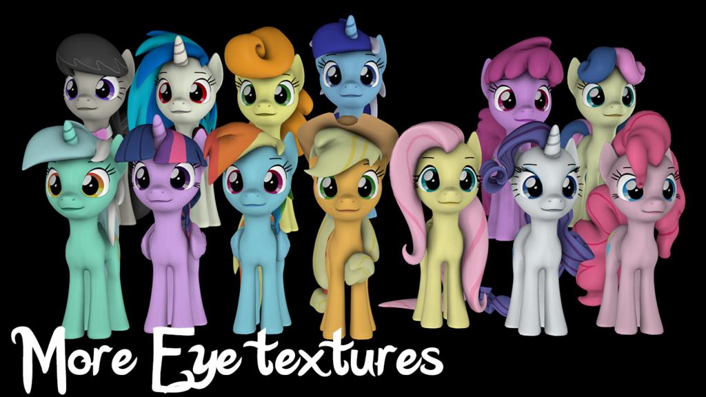 Fixed eye textures - SFM Resource Download