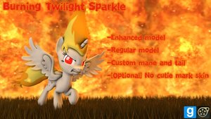 Burning Twilight Sparkle