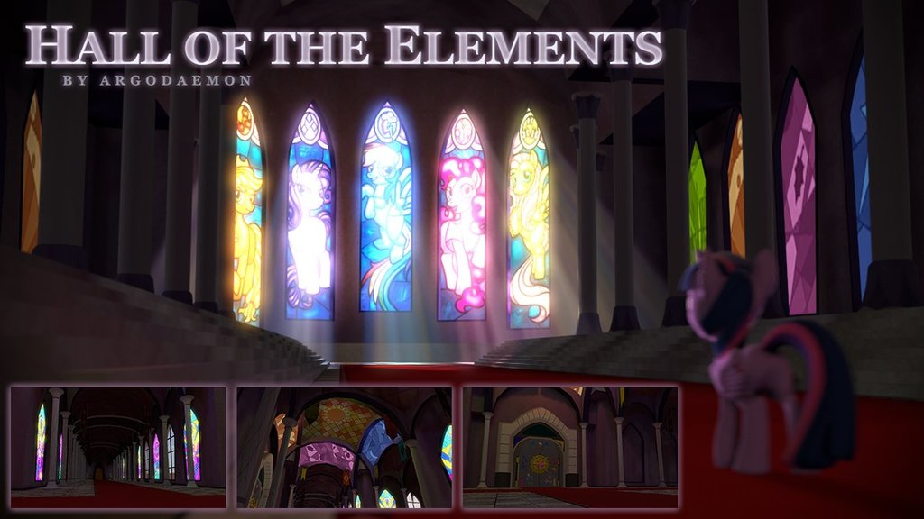 Hall of the Elements Map