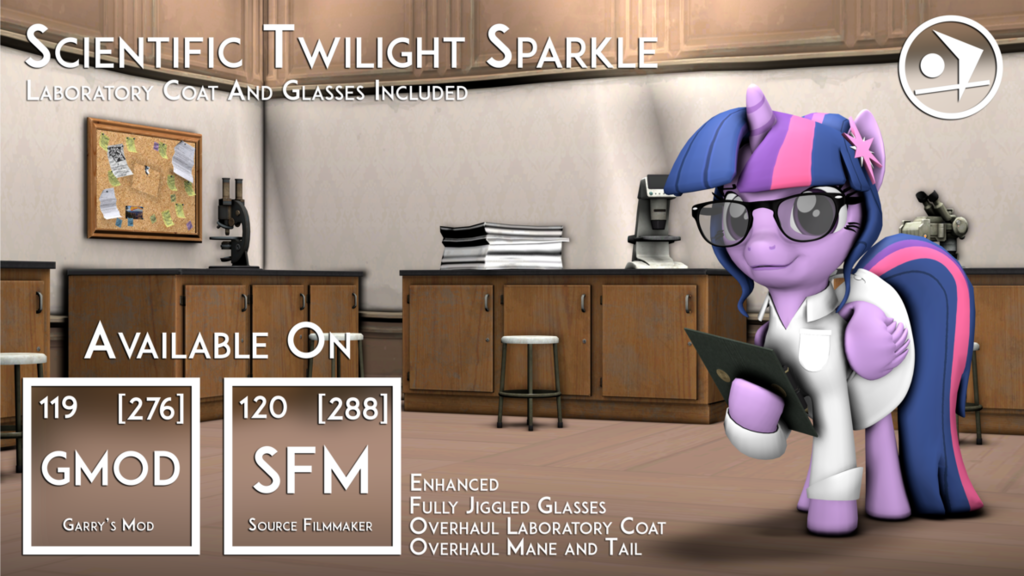 Remastered Original Scientific Twilight Sparkle