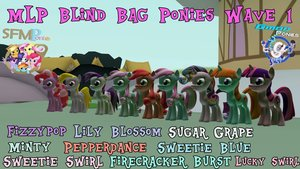 MLP Blind Bag Ponies Wave 1