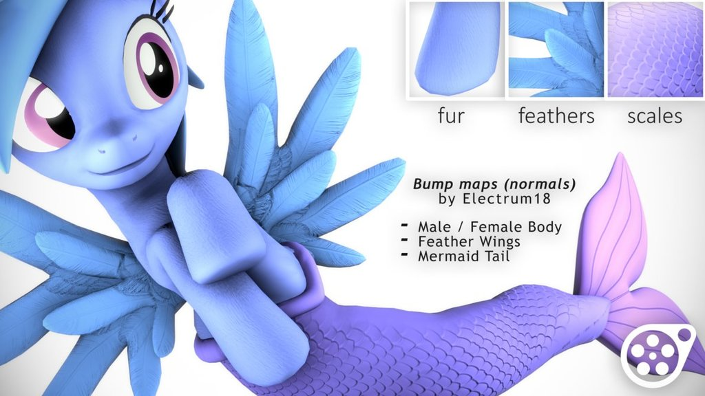 Electrum's Bumpmaps for ponies