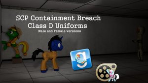 SCP Containment Breach Class Uniforms